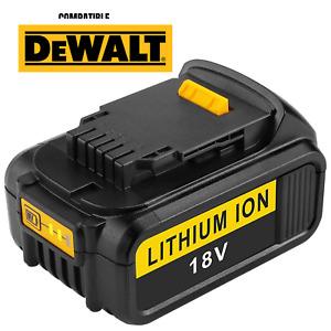 Batterie pour DeWalt 18V 5 Ah 5000mAh Indicateur LED Lithium-ion XR DCB184.....