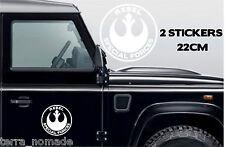 Star Wars Rebel fuerzas especiales pegatina, vinilo, coche, gracioso, Calcomanía Gráfico Novedad