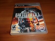 Battlefield 3: Premium Edition (Sony PlayStation 3, 2012) completo PS3