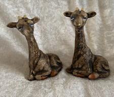 Giraffe Salt And Pepper Set