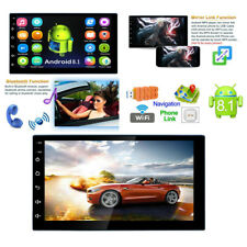 2Din 7inch Touch Quad Core Android 8.1 Auto Car Truck MP5 Player GPS Navi Radio
