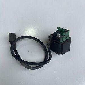 Honda CTX700 CTX 700 2013 Starter motor relay switch solenoid 35850-MT4-003