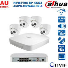 Dahua 8 Channel 8 PoE H.265 4MP Built-in MIC Plug&Play Home CCTV Security System