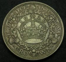 GREAT BRITAIN 1 Crown 1929 - Silver - George V. - VF - 542