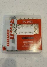 SRAM PC-1091 10 Speed, Bicycle Chain, 114 links, Quick Link included