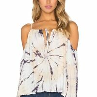 BLUE LIFE x Revolve size Small cold shoulder top