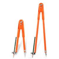 2X(Carpenter Precision Pencil Compasses Large Diameter Adjustable Dividers Marki