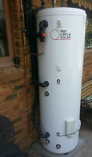 Red Circle Solar  300lt Domestic Solar Ready Hot Water Storage Tank with coil
