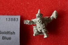 Rozmax Pyro Stick Chaos Dwarf Bloodbowl Thrower Dwarves Blood Bowl Metal Figure