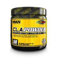 MAN Sports CLA Powder 50 Servings Conjugated Linoleic Acid Reduce Body Fat