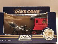 LLEDO DG03 011A HORSE DRAWN DELIVERY VAN – WORLD COLLECTORS CLUB - SPRING 1987