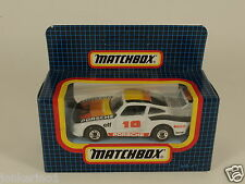 MATCHBOX MB-41 RACING PORSCHE RACE AUTO - 1987 - IN ORIGINAL BOX MIB [OF3-73]