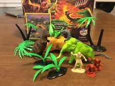 Superior Rulers Of The Earth Dinosaur Playset Box Cavmen Plants Marx Mammoth Etc
