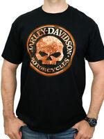 Harley-Davidson Mens Willie G Skull Sign Black Short Sleeve Biker T-Shirt