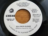 SOLOMON BURKE - I'll Never Stop Loving You (Never Ever Song) 1976 NORTHERN SOUL