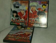 Inuyasha Anime dvd diy 01,02,03 Episodes 1-9 complete Viz video