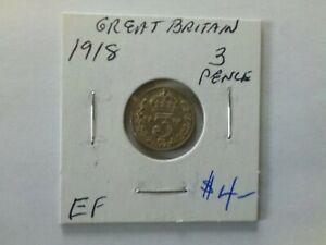 Great Britain 1918 3 Pence
