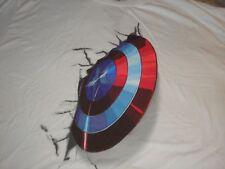 XL Men's Captain America's Shield into Wall by Fine Tee Shirts NWT Disney