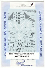 1/48 SuperScale Decals US Navy Hornet F/A-18A VFA-132 VFA-303 VFA-305 48-346