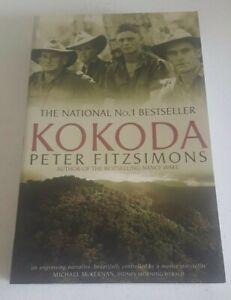 Kokoda By Peter Fitzsimons Paperback 2005 Australian Military
