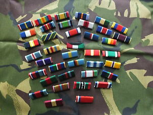 Commemorative Medal Bar - 1 Space Full Size - Pinned or Studded or Sewn