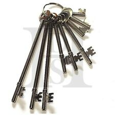 FB KEY SET-FIRE BRIGAGE-SET OF 9 FB KEYS - FULLY TESTED - BEST QUALITY