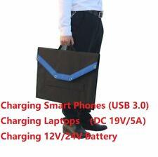 120W Foldable & Portable Sunpower Solar Kit 18V for camping, overlanding