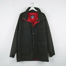 Vintage WOOLRICH Charcoal Grey Thick Lined Jacket Size Mens XL XLarge /R22013