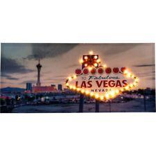 LED Bild Fabulous LAS VEGAS Wandbild Beleuchtung Leuchtbild 100x45 cm Leinwand