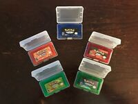Pokemon GBA Carts (Emerald, Ruby, Sapphire, Leaf Green, Fire Red) Reproductions