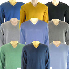 Marks and Spencer V Neck Jumpers for Men