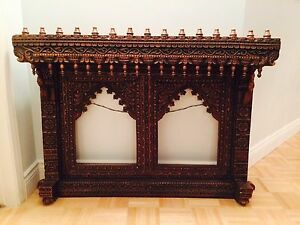 Wooden Antique Hand Carved Double Frame - LAST ONE!!!