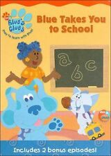 BLUE'S CLUES: BLUE TAKES YOU TO SCHOOL - DVD - Region 1 - Sealed