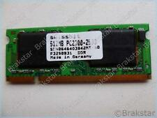 15425 SWISSBIT 512MB PC2700-2533 SDN0646403B42MT-60 F3343512