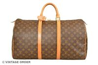 Louis Vuitton Monogram Keepall 50 Travel Bag M41426 - YG00886