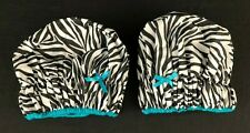 2x Betty Dain Fashionista Collection Mold Resistant Lined Shower Cap Waterproof