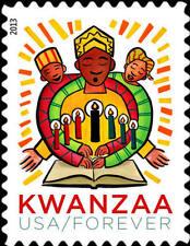 2013 46c Kwanzaa, Holiday Celebration Scott 4845 Mint F/VF NH