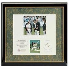 IAN CHAPPELL AUSTRALIA CRICKET SIGNED FRAMED THE GREAT CAPTAINS PRINT LIMITED