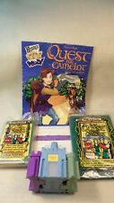 Lot of Four 1998 Burger King Quest For Camelot Restaurant Kids Meal Premium Toys