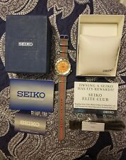 Seiko 7S26-0350 SKX781 Orange Monster (First Gen) 21 Jewel Automatic Dive Watch