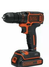 BLACKDECKER BDCDD120C 20V MAX Lithium Single Speed Drill Driver Double Ended Bit