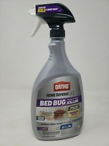 Ortho Home Defense Max Bed Bug, Flea & Tick Killer 24-Oz Spray Bottle