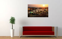 "SUNRISE PRAGUE ART PRINT POSTER PICTURE WALL 33.1"" x 20.7"""