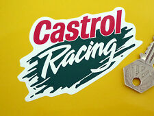 "CASTROL RACING Splash Stile Logo Rally Auto adesivi 4 ""PAIR RACE BIKE CLASSIC"