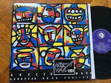 2 LP 1991  Various – Arezzo Wave 1991 Label: Kindergarten Records – 506 026-1