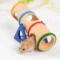 4X(Haustier-kleiner Tierspielplatz - hoelzernes Wippe-Spielzeug fuer kleine 1I7)