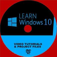 WINDOWS 10 TRAINING BY EXPERTS VIDEO TUTORIALS EASY TO FOLLOW  NEW PC-DVD ROM