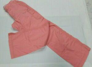 Women's Koi Scrub Pants (no size tag)Peach. Soft. Elastic Waist. See Measurement