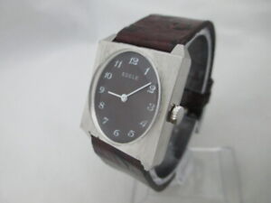 NOS NEW VINTAGE RARE MECHANICAL HAND-WINDING EDELE WOMEN'S ANALOG WATCH 1960'S