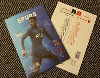 Tottenham v Middlesbrough FA CUP 3RD ROUND REPLAY Programme 14/1/2020!!!
